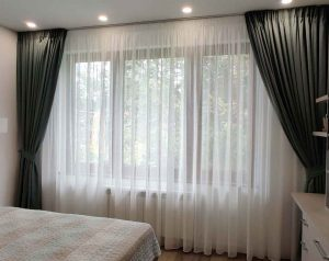 Пердета и завеси спалня