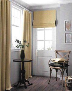 Завеса и римска щора