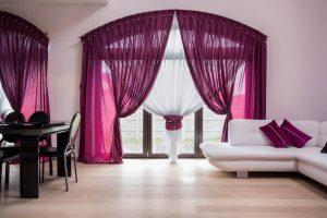 curtains-purple