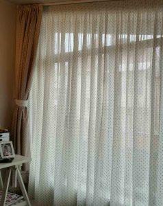 Детско перде и завеса