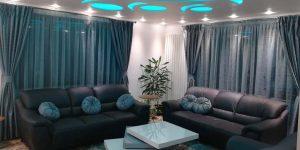 Пердета за хол и декоративни възглавнички