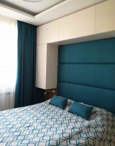Завеса, шалте и възглавнички