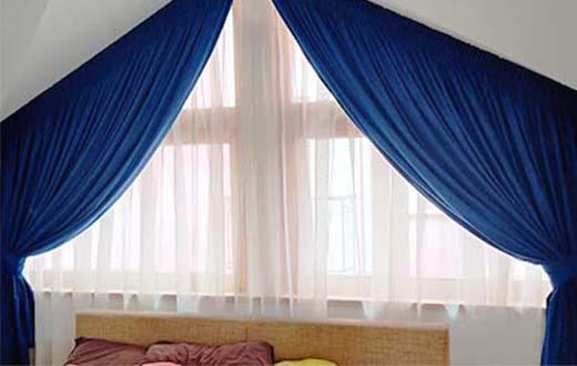 Перде и Завеса за нестандартен прозорец